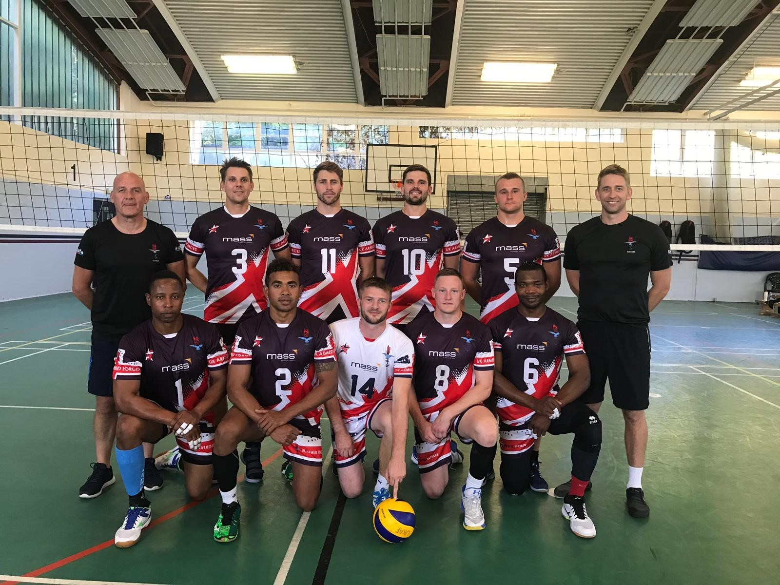 Uk Armed Forces Volleyball Mass